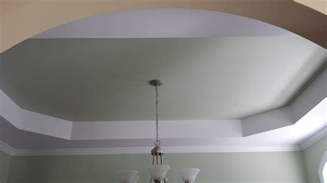 Tray Ceiling Definition interior painting accent walls bold color want that fixed