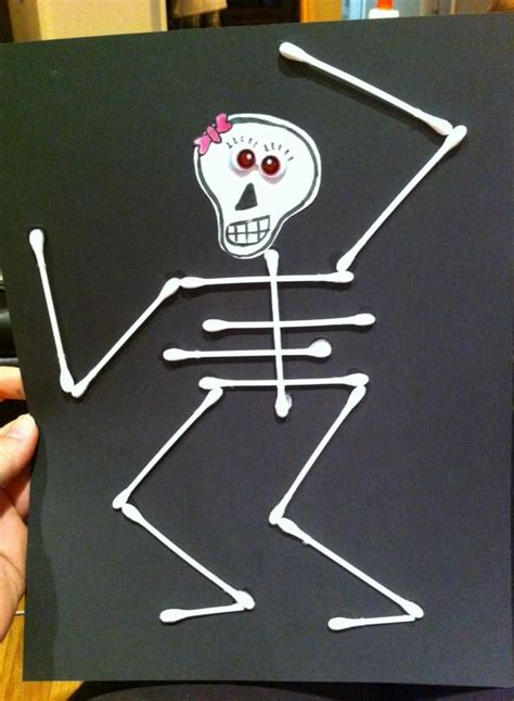 q tip skeleton craft template 76 best images about diy crafts on stylists