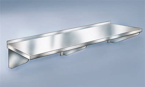 Stainless Wall Shelf by Wall Shelf Stainless Steel 36 Quot W X 12 Quot D 2 Brackets