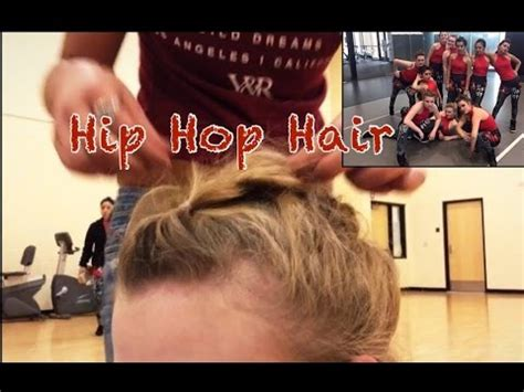 hip hop dancer hair styles dance hairstyle hip hop youtube