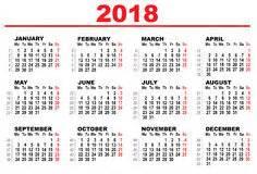 And Tobago Calendrier 2018 Calendario Para 2018 Fotos Stock 251 Calendario Para