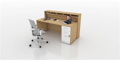 sleek white office desk sleek reception desk modern office furniture