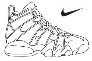 sneaker coloring book shoes coloring pages coloring home