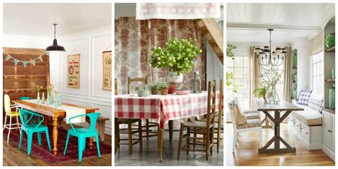 Dining Room Decor by 83 Best Dining Room Decorating Ideas Country Dining Room