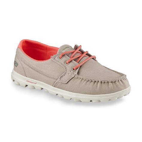 sketcher boat shoes skechers women s on the go clipper stone boat shoe