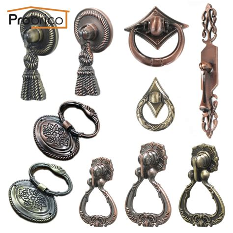 probrico vintage furniture antique drawer knob zinc alloy