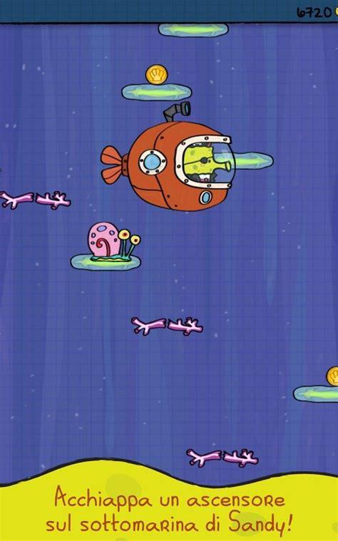 doodle jump gratis per android doodle jump spongebob per oggi gratis su app