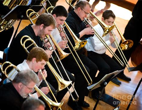 Trombone Section Photograph By Jim Calarese