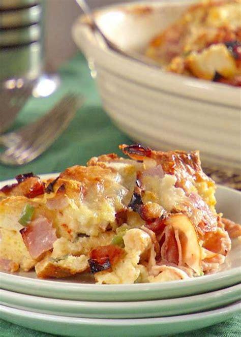 recipe for strata ham and cheese strata flavorite