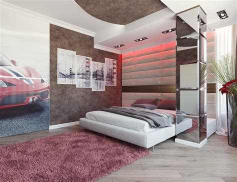 stylish bedroom design  couples