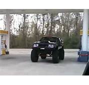 BLACK REDNECK CAR LIFTED ON MUD TIRES  YouTube