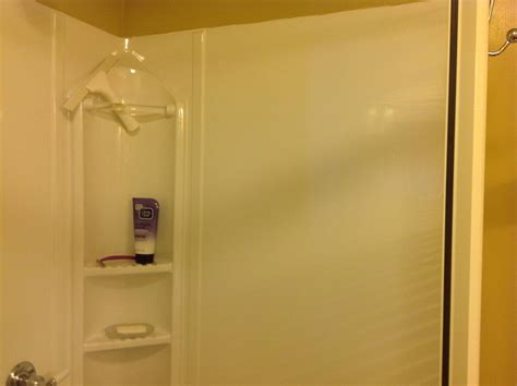 plastic wall sheets bathroom leak should the plastic walls of a shower kit have air