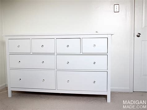ikea hemnes drawer handles ikea hemnes dresser a simple white baby dresser idea