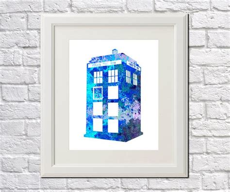doctor who poster tardis wall print home decor 5065