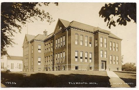 plymouth michigan high school 33 best western wayne county history images on