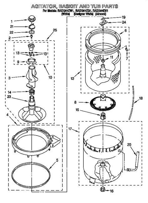 roper washing machine wiring diagram washing free