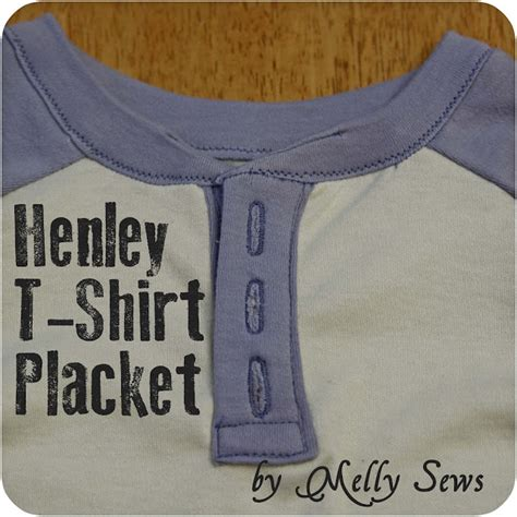 learning to sew a shirt placket cut it out stitch it up henley t shirt placket melly sews