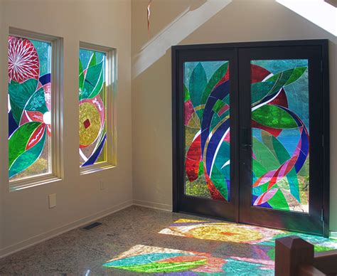 nancy gong brings laminated glass artwork