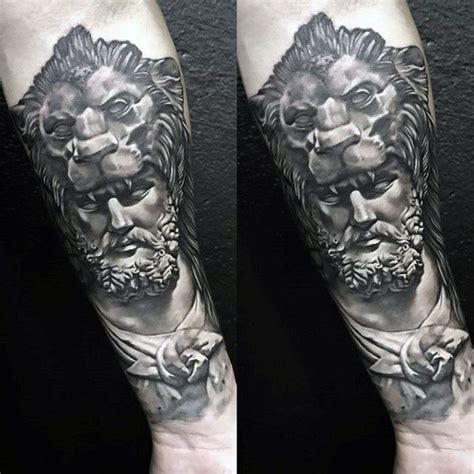 60 roman statue tattoo designs for men stone ink ideas