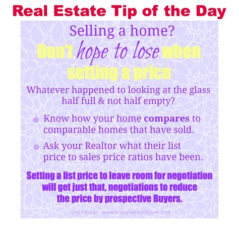 don t to lose when setting a price to sell a home