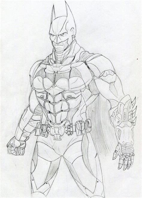 coloring pages batman arkham knight batman arkham knight by datjiveturkey on deviantart
