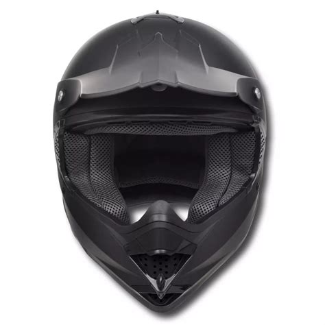 motocross helmet visor motocross helmet black m no visor with goggles vidaxl co uk