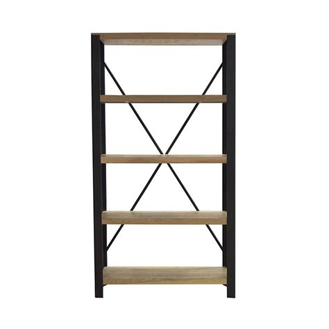 bookshelves and wall units alps bookcase 5 shelf