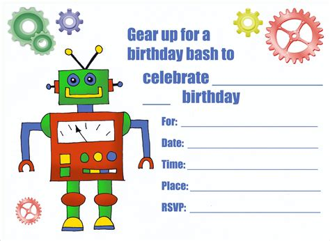 printable invitations birthday boy birthday invitation card printable birthday invitations
