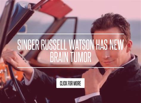 Singer Watson Has New Brain Tumor by Singer Watson Has New Brain Tumor