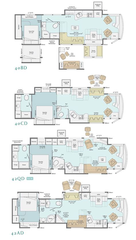 itasca rv floor plans itasca motorhome floor plans