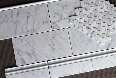 polished marble tiles bathroom 8 95sf carrara 8x16 quot polished honed italian marble tile traditional bathroom atlanta