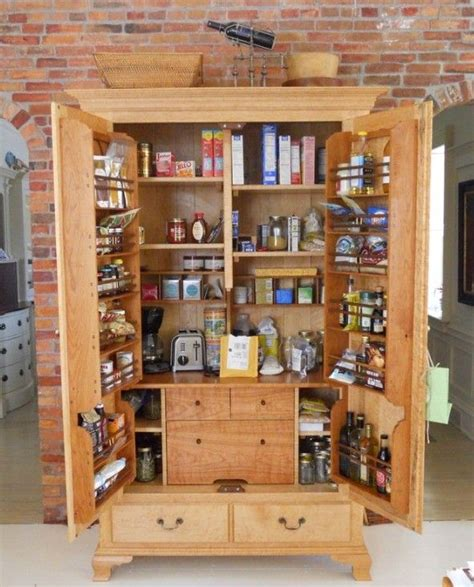 free standing kitchen furniture best 25 free standing pantry ideas on
