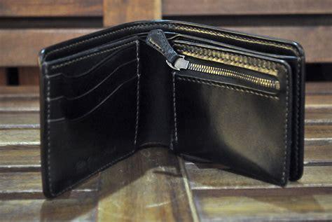 Cordova Wallet shell cordovan bi fold wallets five plus one