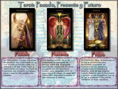 tirar tarot gratis ver presente pasado y futuro tirada de tarot quot pasado presente y futuro quot tarot los