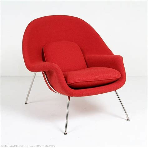 Womb Chair Reproduction by Saarinen Womb Chair Modernclassics