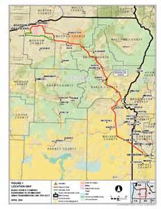 map of northeast oregon stop idaho power idaho power s chosen b2h route