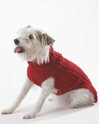 crochet pattern dog jumper free crochet dog sweater pattern crochet crazy pinterest