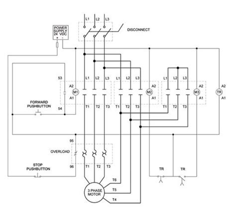 3 phase motor wiring diagrams non stop engineering