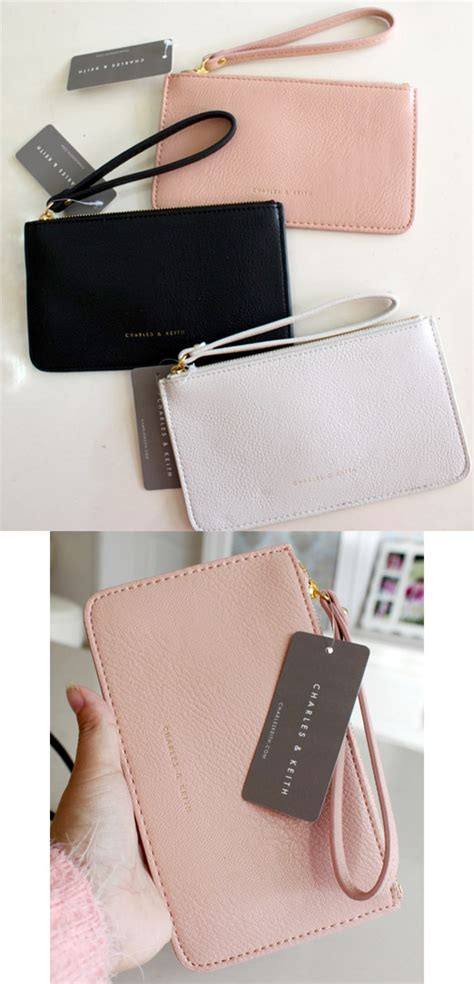 Charles Keith Setc2 Pouch charles keith zip pouch พร อมส ง 5 ส ค า