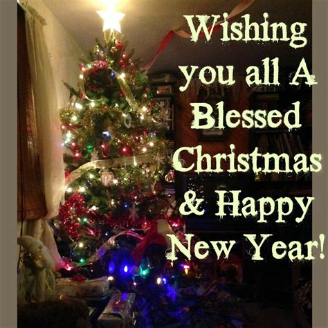 wishing you all a blessed christmas happy new year