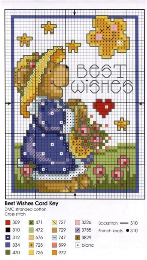 17 best images about cross stitch teddy bears on