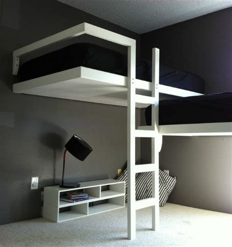 chambre ado avec lit mezzanine chambre moderne avec lit mezzanine appart st denis
