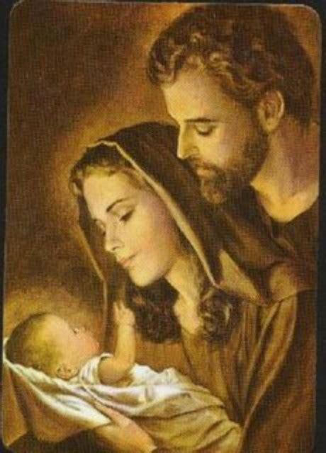 imagenes del nacimiento de jesus con maria y jose sagrada familia oraciones pensamientos reflexiones de
