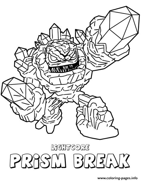 html printable page break coloring pagetrendy skylanders coloring page skylanders