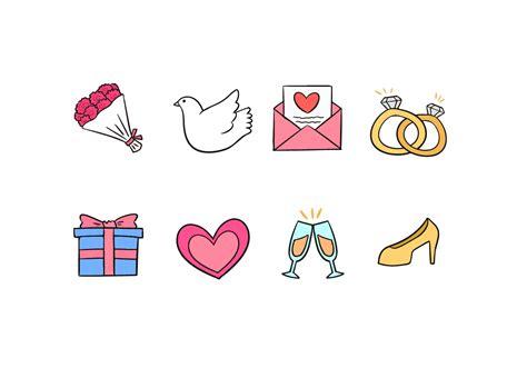 wedding doodle vector free wedding doodles free vector 4844 free downloads