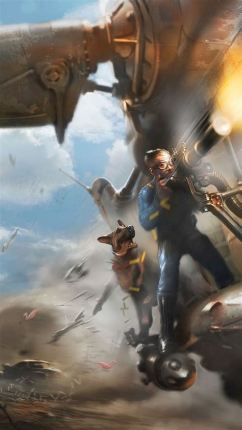 wallpaper fallout   games  game shooter pc