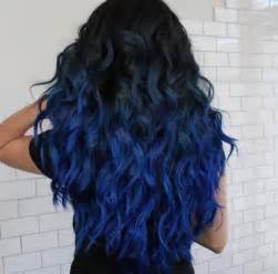 hair colors for blue best 25 blue ombre hair ideas on light blue