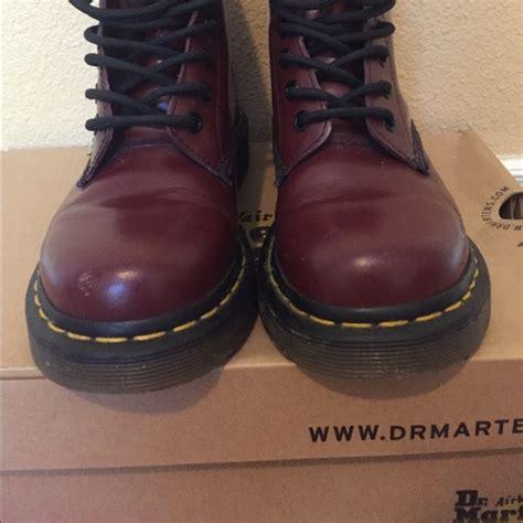 Dr Martens Maroon 40 dr martens shoes s maroon dr martens