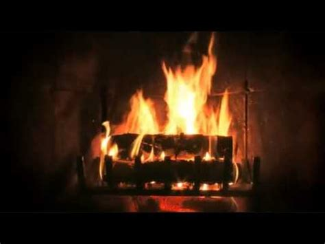 ambient fireplace with jazz classical