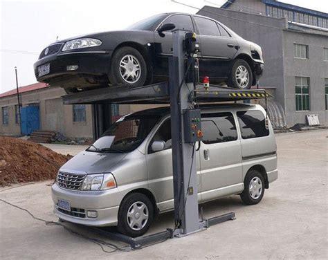 Stacking Cars In Garage by 2300kg Garage Car Stacking System Car Stacking System